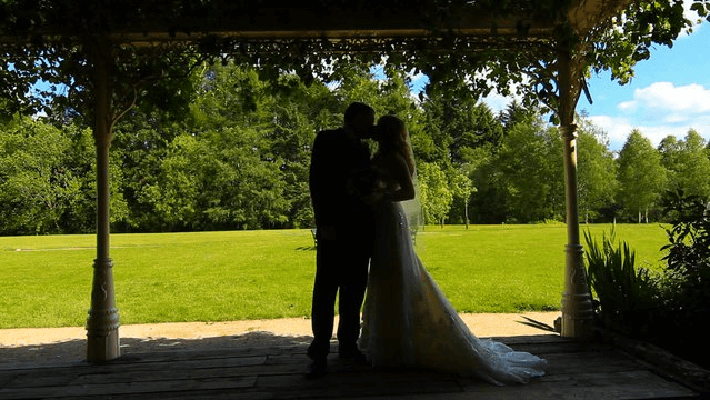 Noami Sheridan and Mark Little's wedding at The Brooklodge in Wicklow.