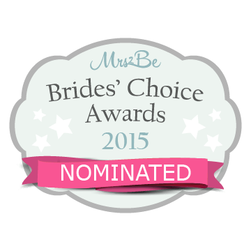 Nominated for the Brides' Choice Award 2015