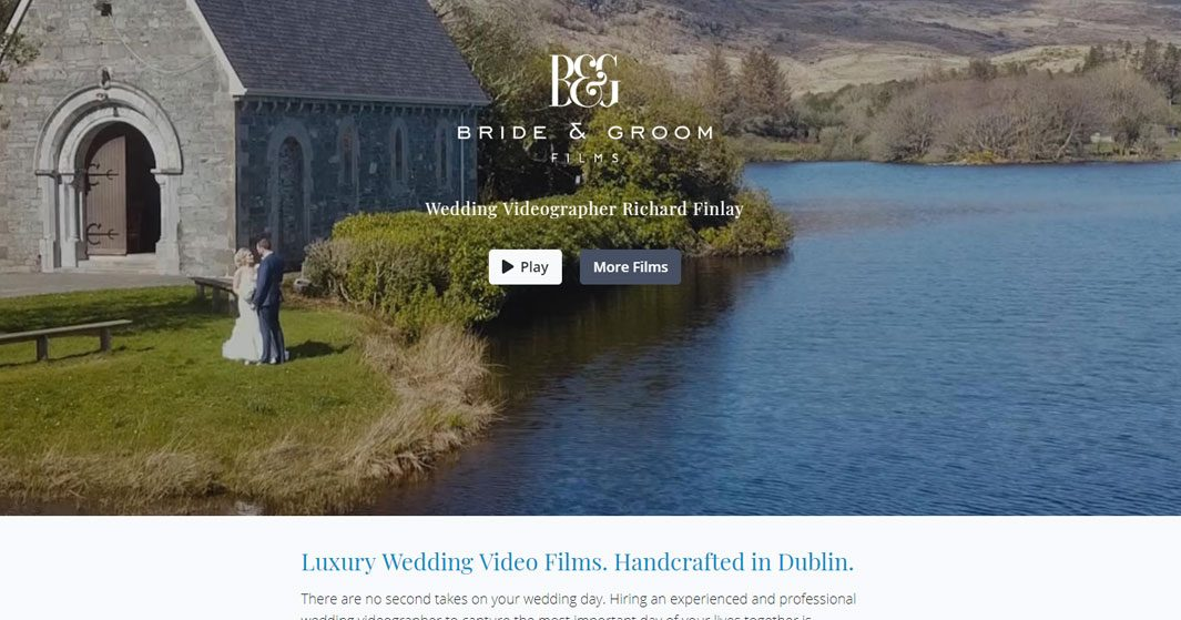 Wedding Videographer Reviews | Bride & Groom Films